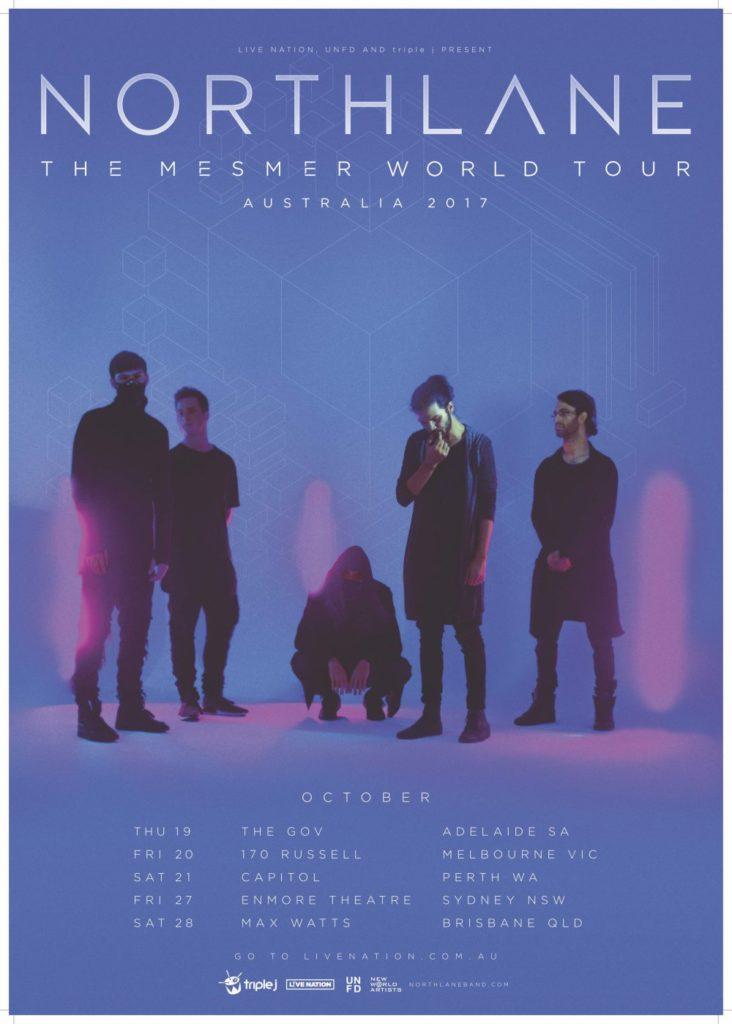 Northlane Australian tour 2017