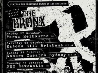 Pennywise Australian tour 2017