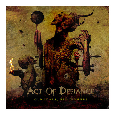 Act Of Defiance - Old Scars, New Wounds