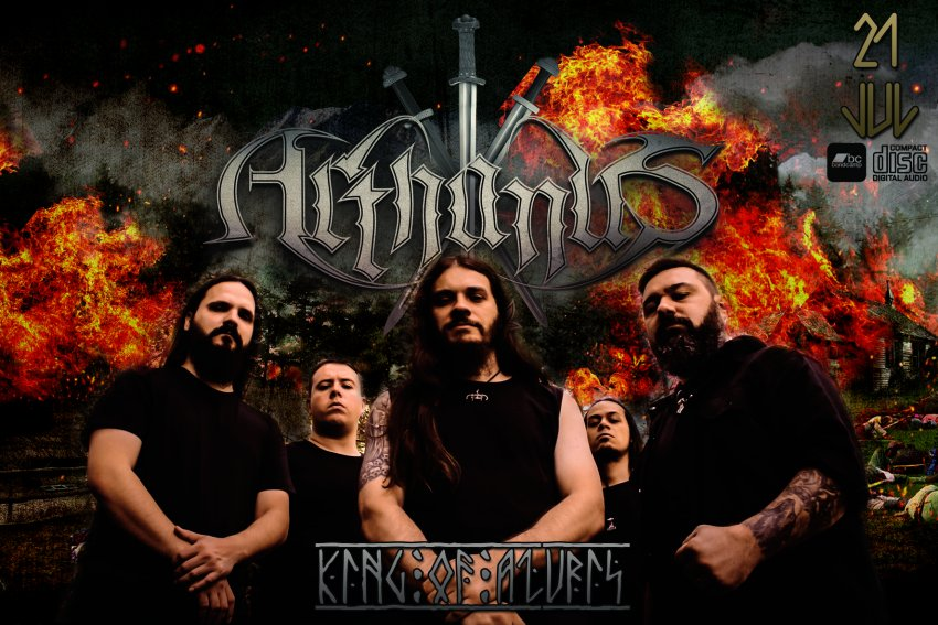 Brazilian death metal band Arthanus releases debut album