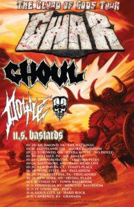 Doyle - Gwar tour