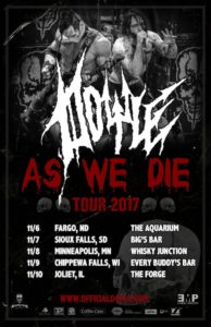 Doyle - As We Die tour