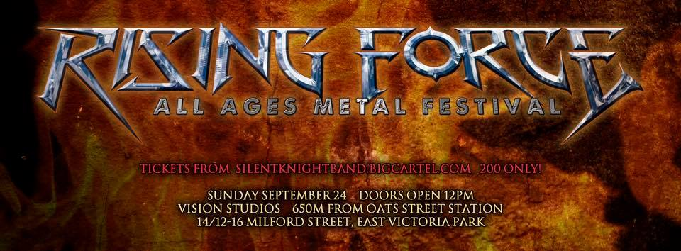 Rising Force metal festival 2017