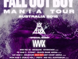 Fall Out Boy Australian tour