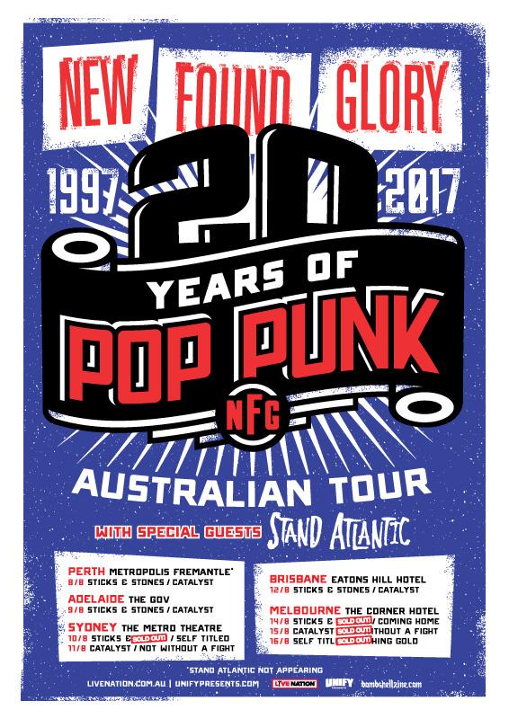 New Found Glory Australian tour