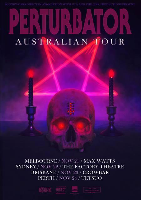 Perturbator Australian tour