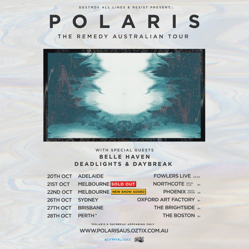 Polaris - The Remedy Australian tour