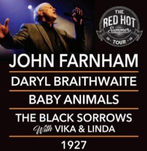 John Farnham - The Red Hot Summer tour