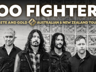 Foo Fighters Australian tour 2018
