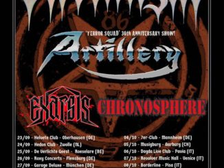 Onslaught - thrash til death tour