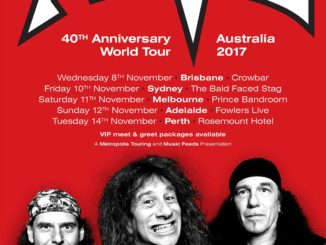 Anvil Australia Tour