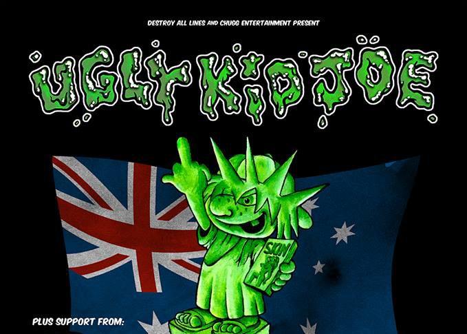 Ugly Kid Joe Australian tour