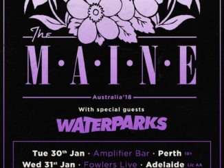 The Maine Australia tour 2018