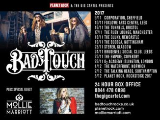 Bad Touch - Mollie Marriott UK tour