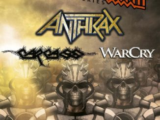 Defenders Of The North festival - Anthrax, Carcass, Warcry