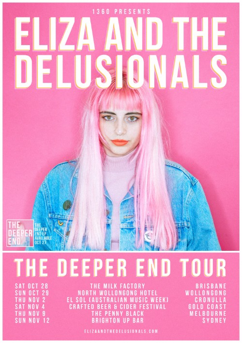 Eliza And The Delusionals Share Video For 'Deep End