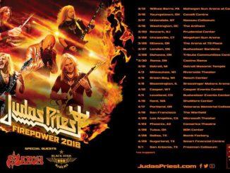 Judas Priest - Firepower tour