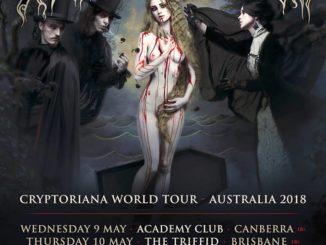 cradle of filth australia tour 2018