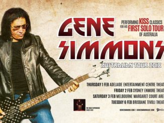 Gene Simmons Australia tour 2018