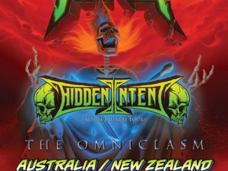 Lich King - Hidden Intent Australia New Zealand 2018 tour
