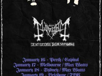 Mayhem Australia tour