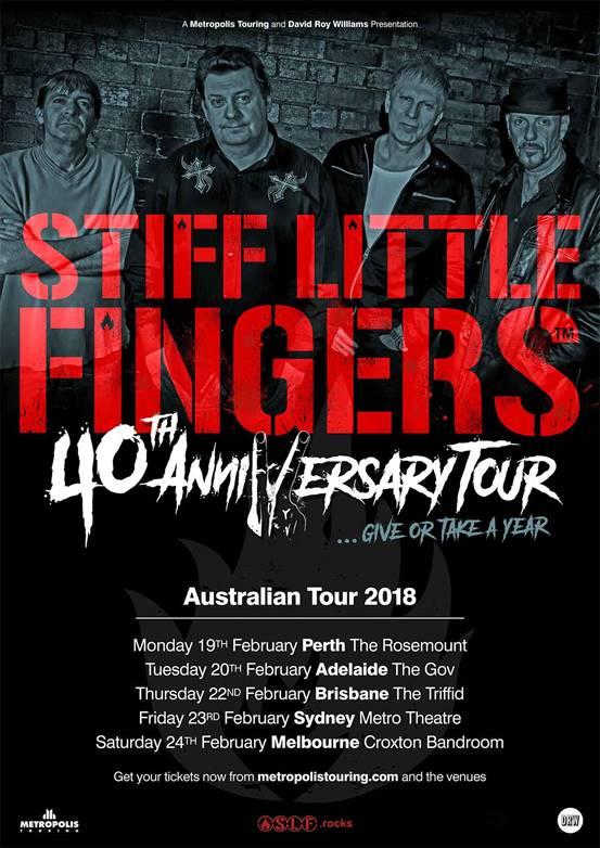 Stiff Little Fingers Tour Dates