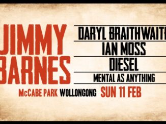Yours & owls - JIMMY BARNES DARYL BRAITHWAITE | IAN MOSS | DIESEL | MENTAL AS ANYTHING
