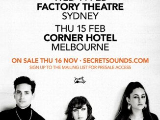 Kitty Daisy & Lewis Australian tour