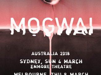 Mogwai Australia tour 2018