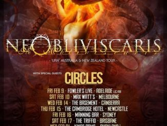 Ne Obliviscaris Australian tour 2018