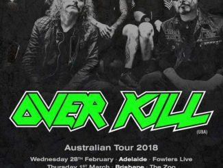 Overkill - Australian tour 2018