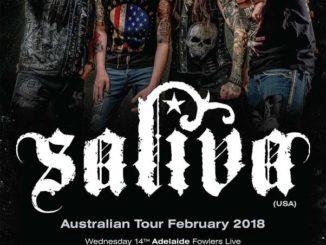 Saliva Australia tour 2018
