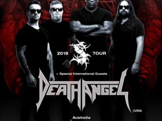 Sepultura / Death ANgel Australia tour 2018