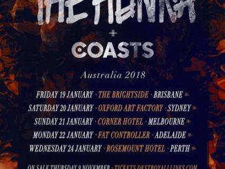 The Hunna / Coasts Australia tour 2018