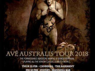 Venom, Inc Australia tour 2018