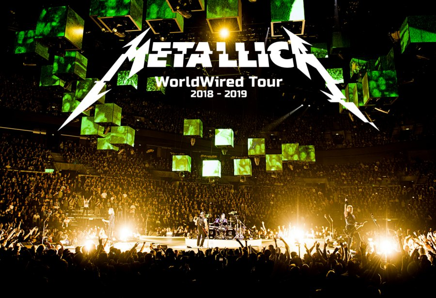 Metallica announces North American tour dates for 2018-2019 – The