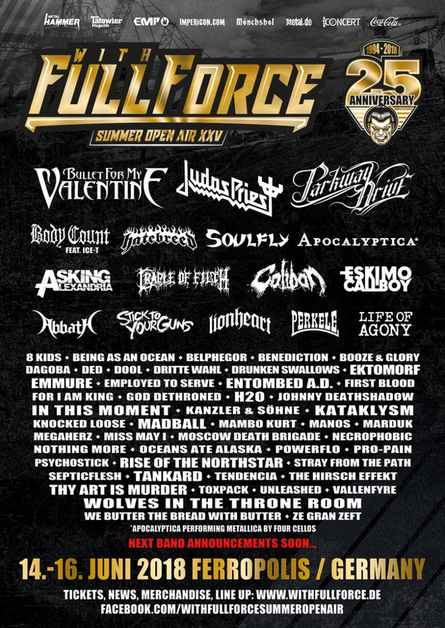 Full Force Line Up