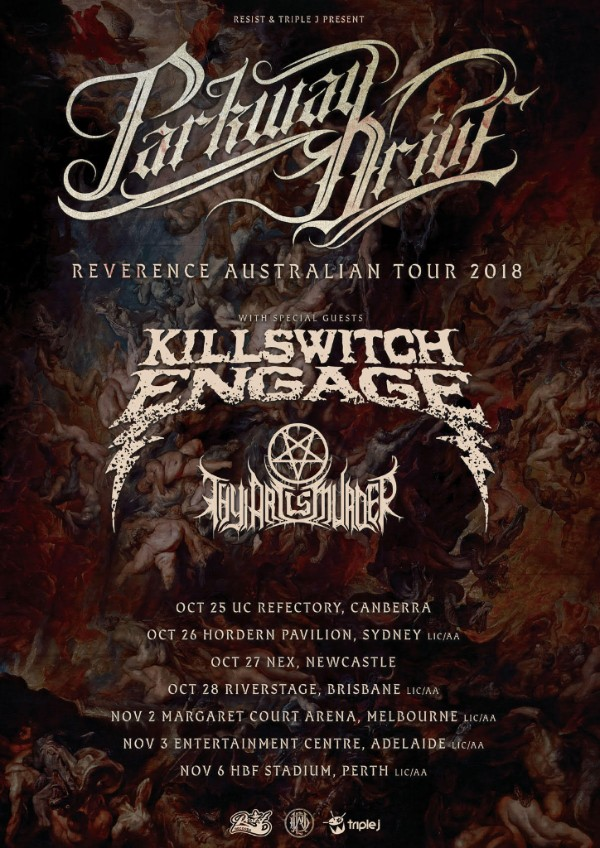 Killswitch Engage sign with Metal Blade Records, new album