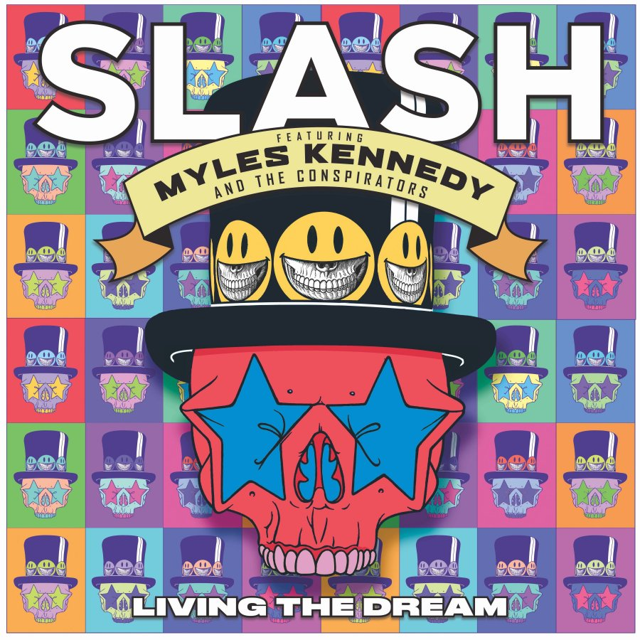 slash living the dream driving the rain