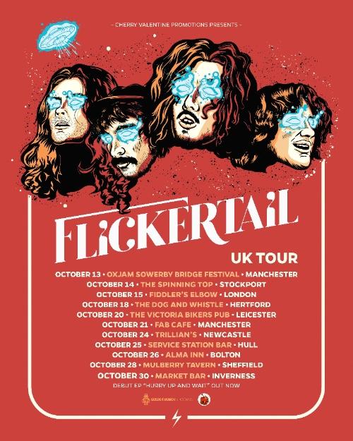 Sydney rockers Flickertail announce huge UK tour – The Rockpit