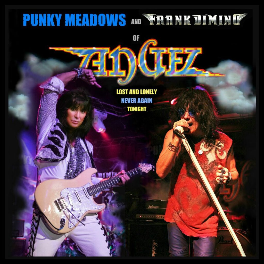 Punky Meadows Amp Frank Dimino Of Angel To Release Vinyl Single Lost And Lonely