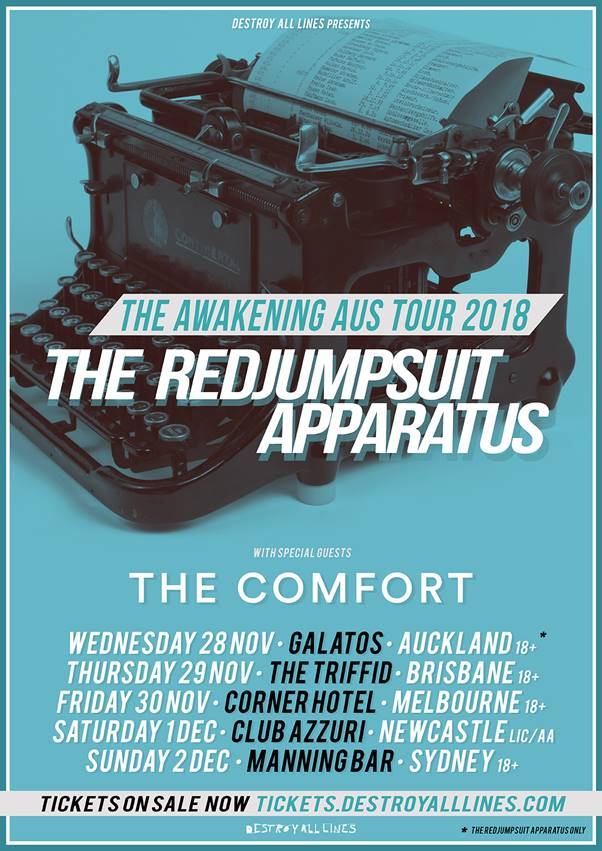 The Red Jumpsuit Apparatus Pay Tribute To Toyah Cordingley