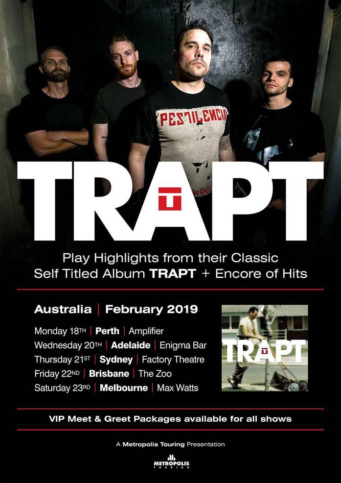 Trapt announce 2019 Australian tour – The Rockpit