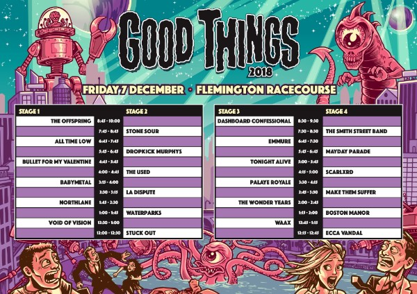 Good Things Festival Announce Timetables and Local Support ...