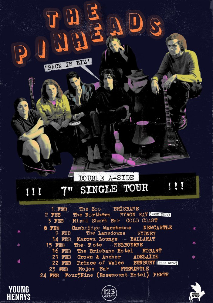 The Pinheads release new video 'Not Like You' & announce