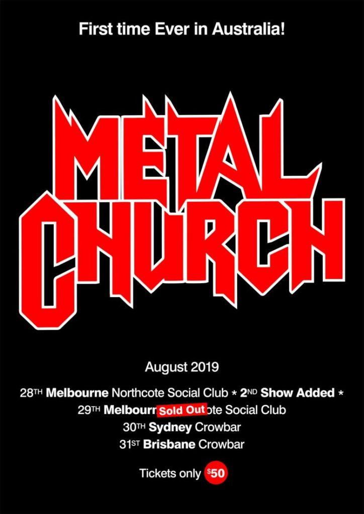 INTERVIEW: Kurdt Vanderhoof – Metal Church – The Rockpit
