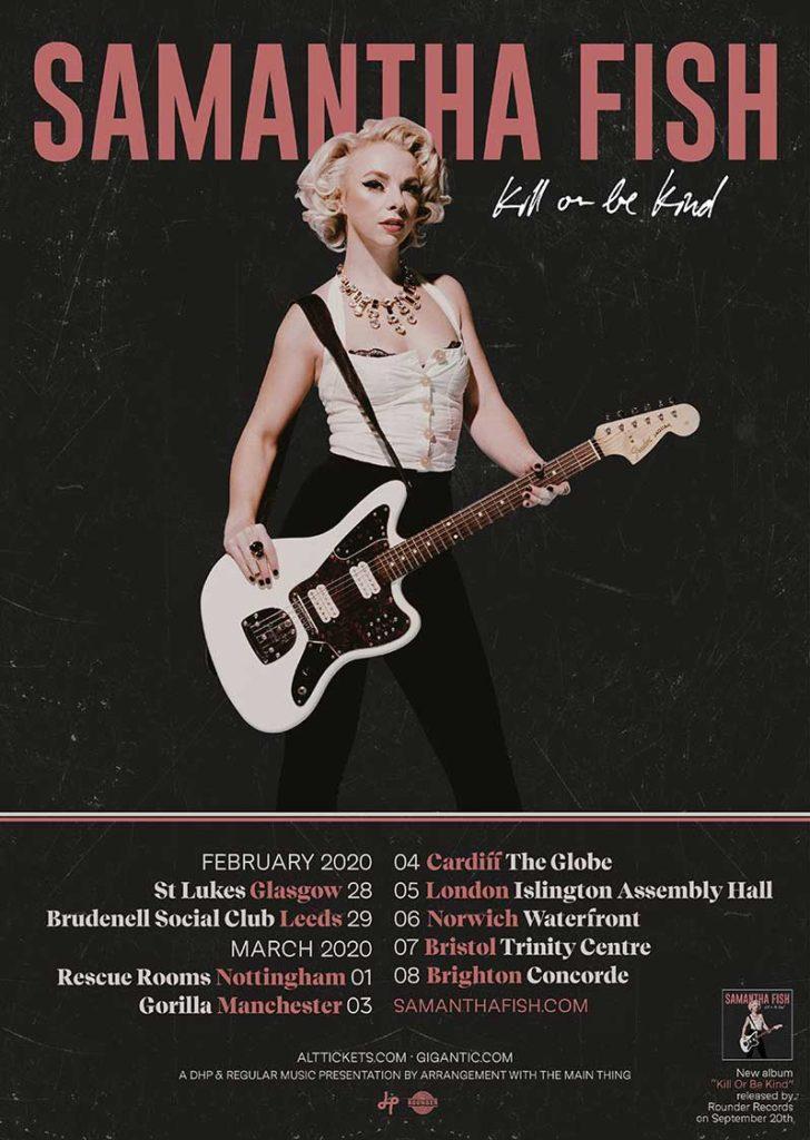 Samantha Fish announces UK Tour for 2020 – The Rockpit