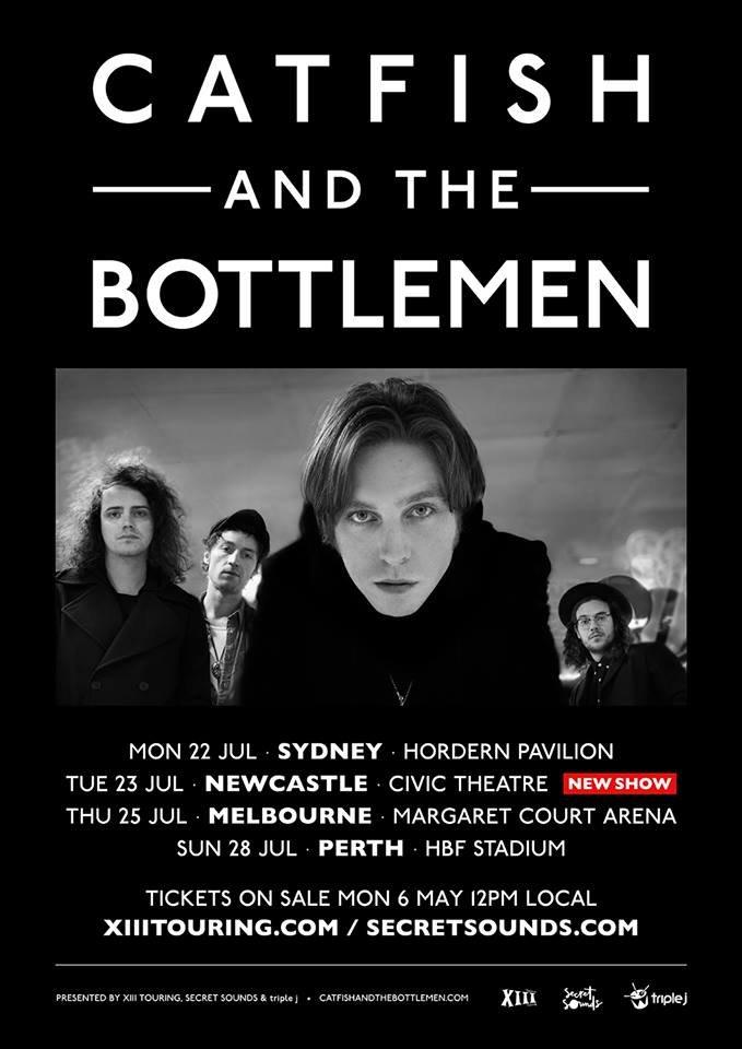 Catfish And The Bottlemen Tour 2020 Catfish And The Bottlemen announce Australia tour dates – The Rockpit