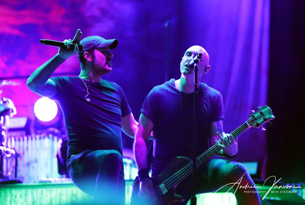 LIVE REVIEW: Breaking Benjamin – New Jersey, July 31st 2019