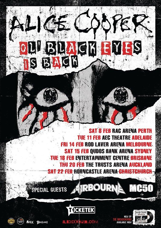 Puddle Of Mudd Tour 2020 Alice Cooper announces Australia tour 2020 – The Rockpit
